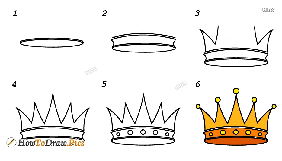 How To Draw Princess Step By Step Images