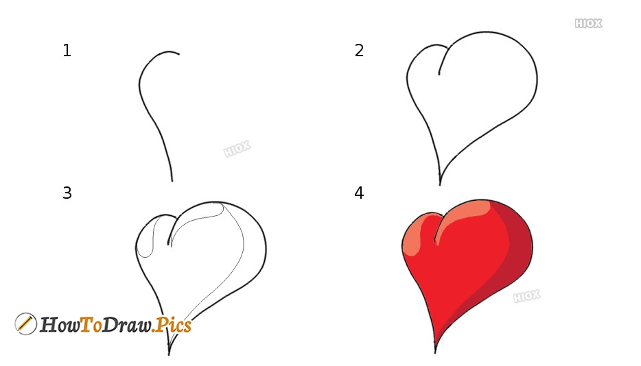 How To Draw Heart Pictures, Images