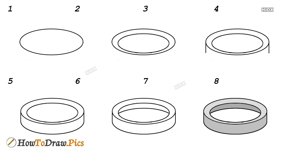 How To Draw A Circle Step By Step Images