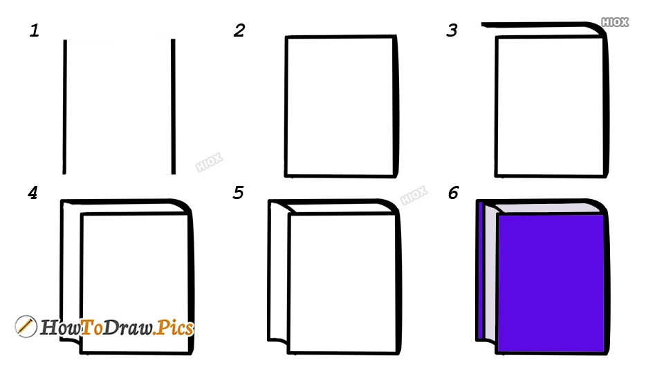 How To Draw A Book Images, Pics
