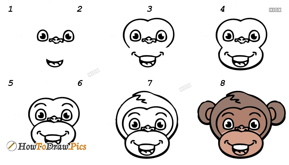 How To Draw Animal Step by Step Pictures