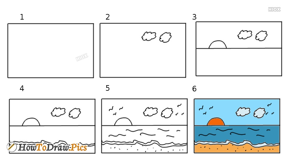 Easy Step By Step Drawing Tutorials For Kids And Beginners