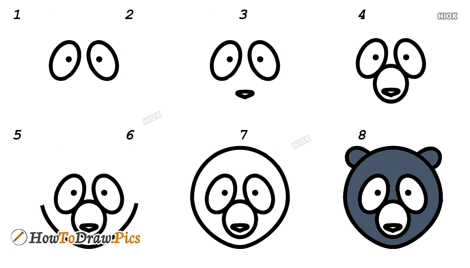 How To Draw Face Step by Step Pictures