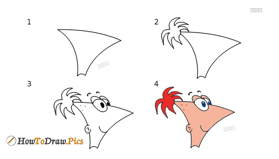 How To Draw A Phineas