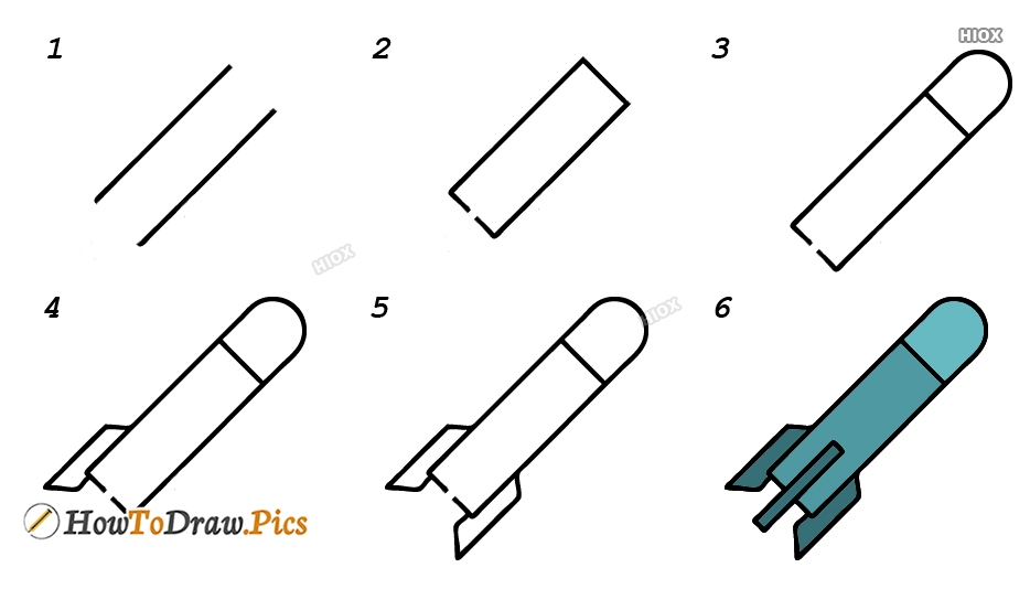 How To Draw A Spaceship Step By Step Images