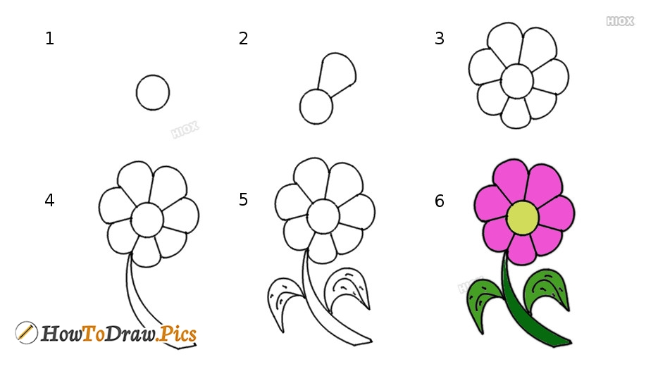 Simple Step By Step Drawings For Kids