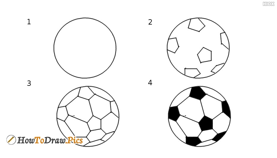 How To Draw Ball Step by Step Pictures