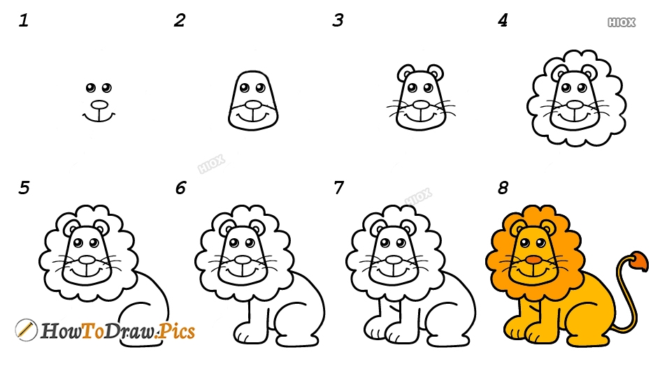 How To Draw Animals Pictures | Animals Step by Step Drawing Lessons