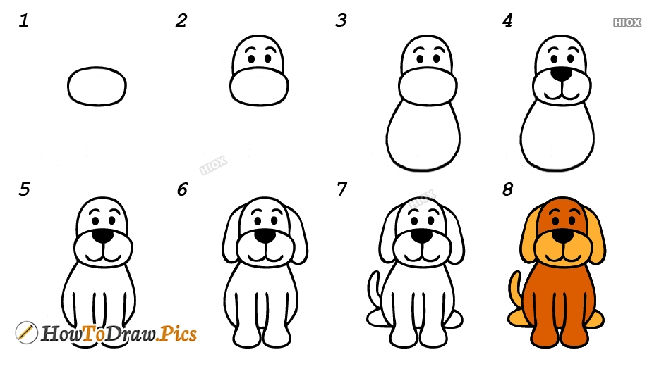 How To Draw Animals Step By Step Easy