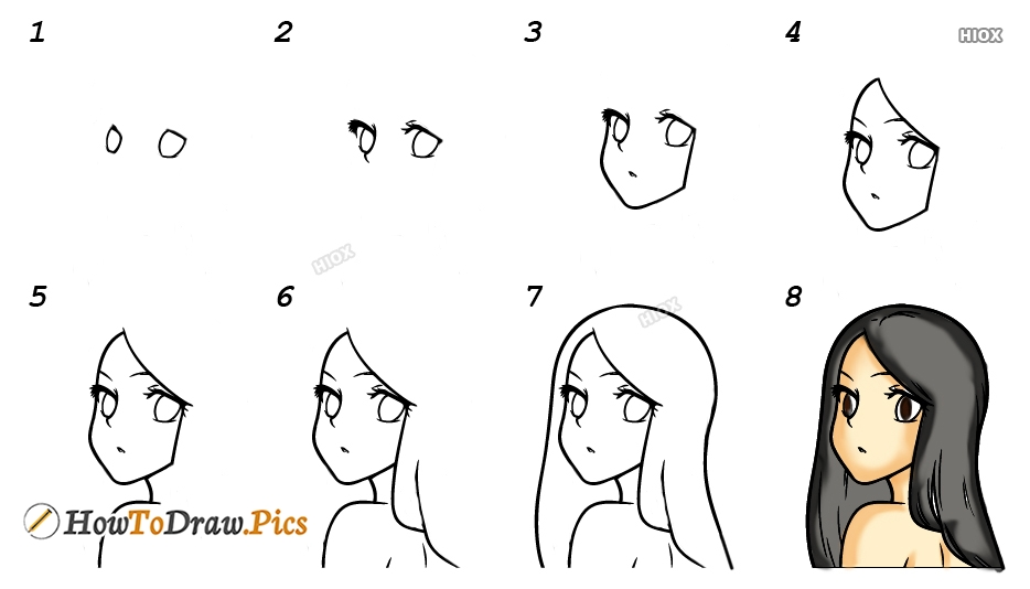 How To Draw A Anime Character Pictures