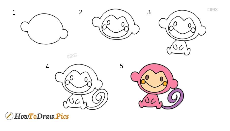 How To Draw Cartoon Chi Chai Monchan