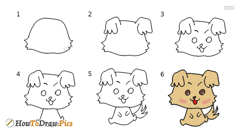 How To Draw Chibimaru Step by Step Pictures