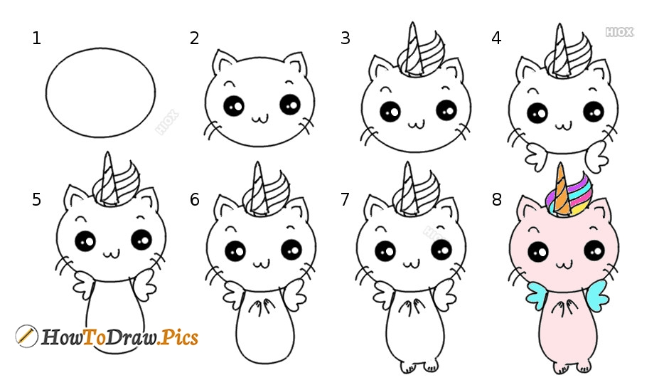 How To Draw Caticorn