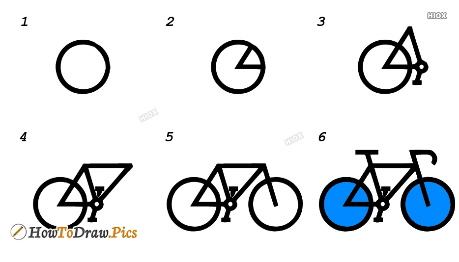 How To Draw A Two Wheeler Images
