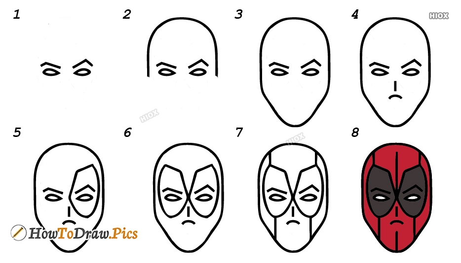How To Draw Face Step By Step Images
