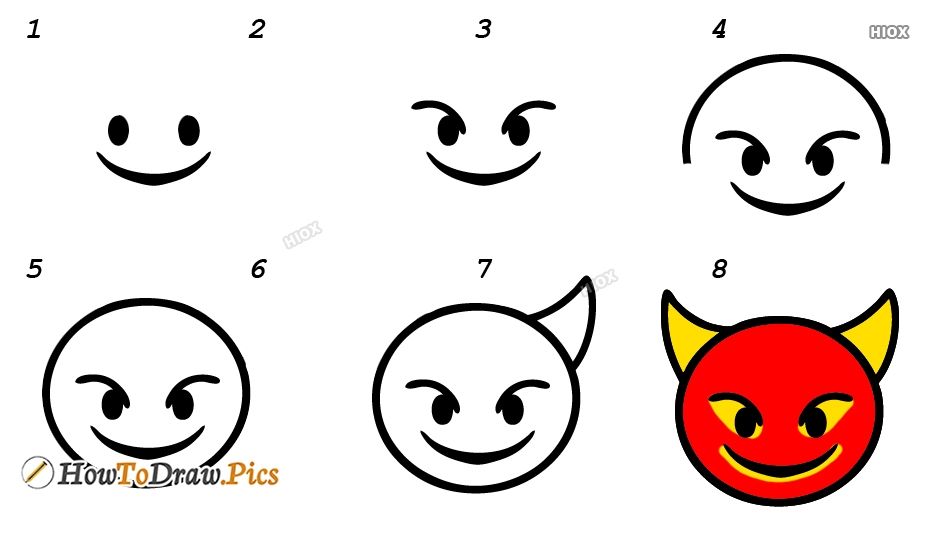 How To Draw Emojis Step By Step Easy Images