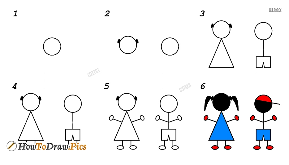 Children Drawing Images