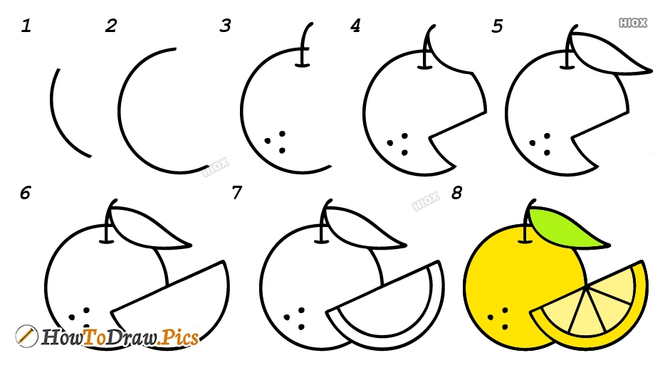 How To Draw Fruits Pictures