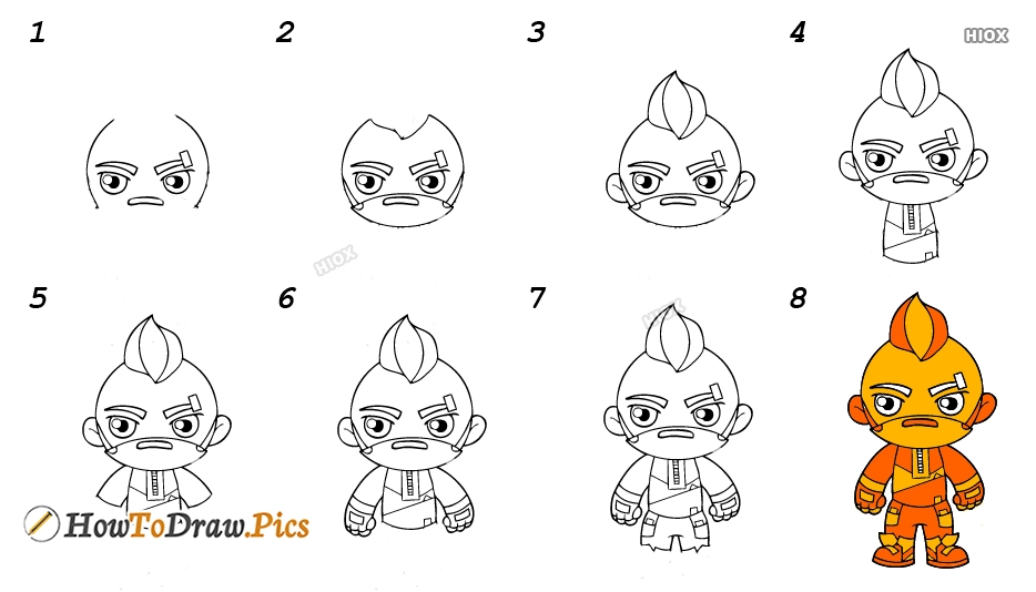 How To Draw Ice King Step By Step Easy Images