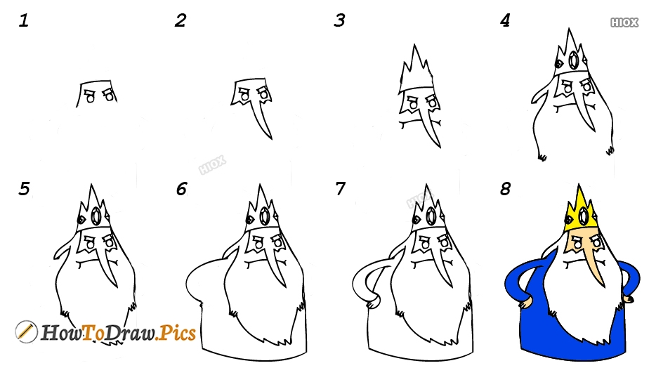 How To Draw Ice King
