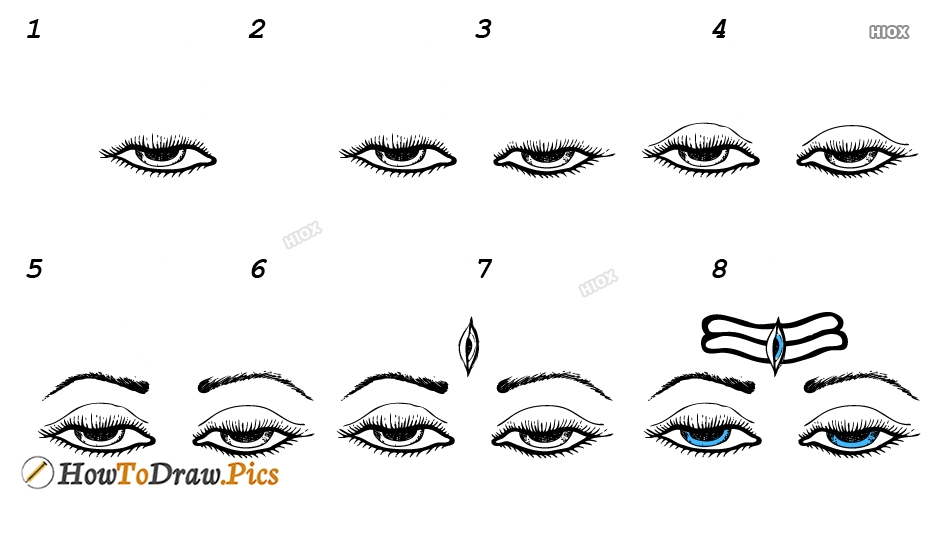 How To Draw Shiva Step By Step Easy Images