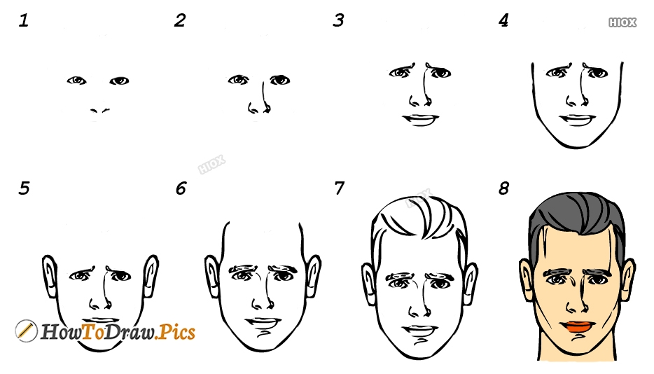 How To Draw Man