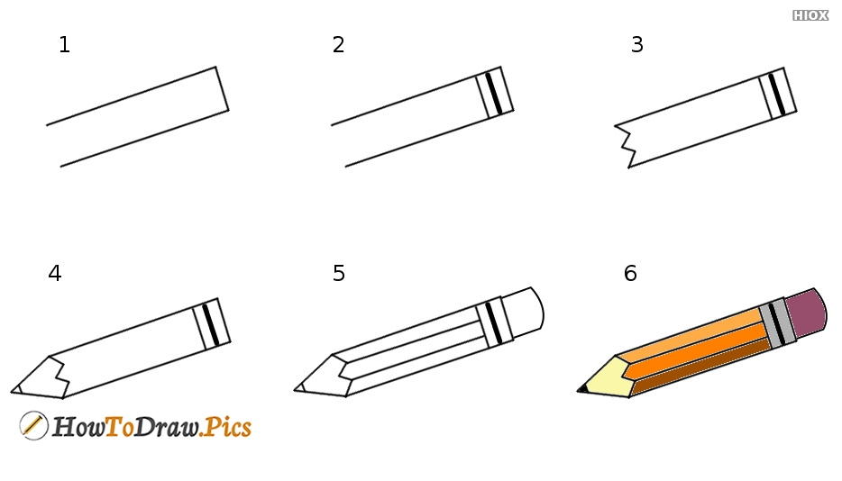 Simple Step By Step Pencil Drawing Tutorials
