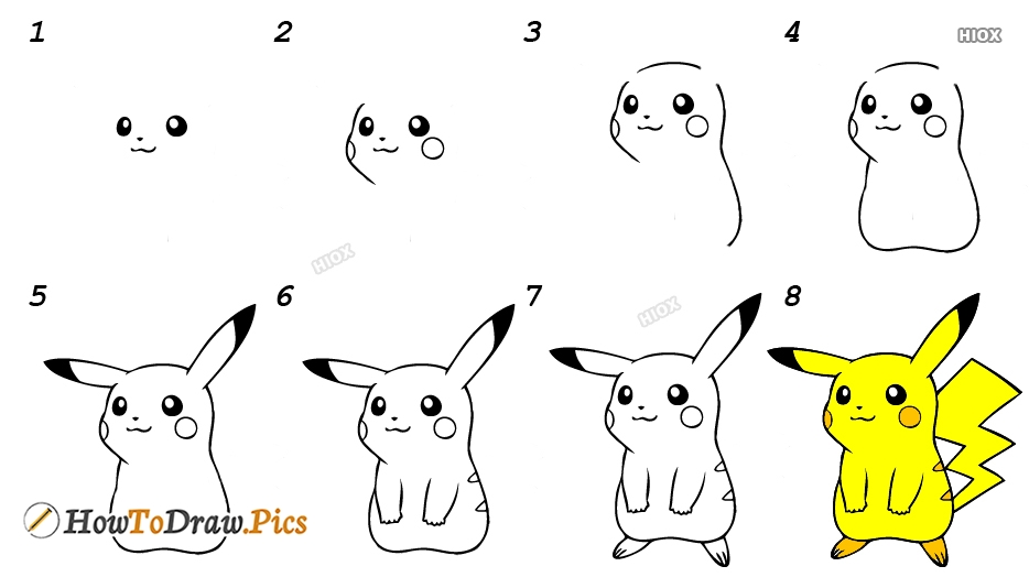 How To Draw Cartoon Characters Step By Step?