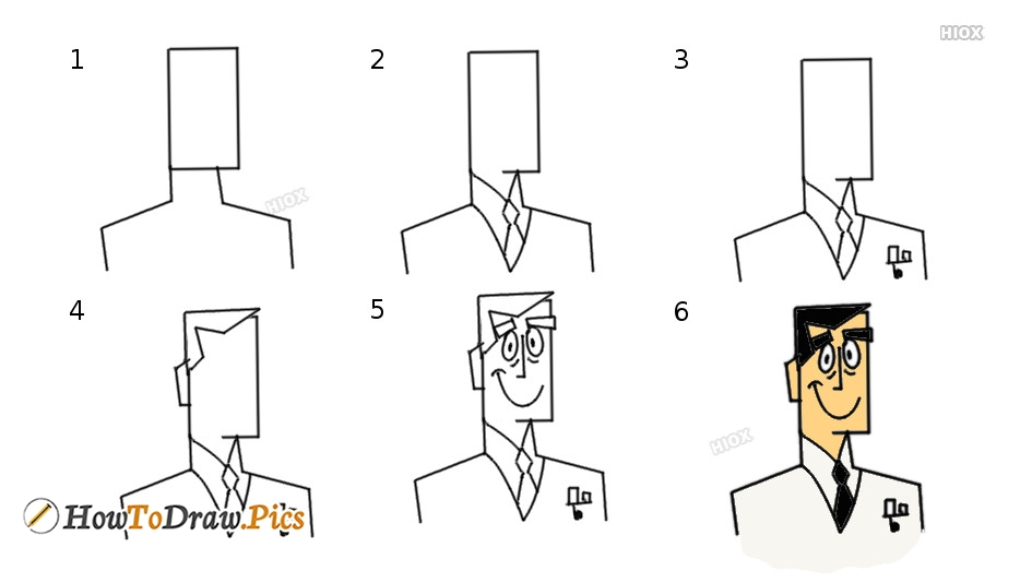 Easy Step By Step Drawing Of Fictional, Fantasy Characters