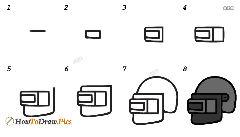 How To Draw Pubg Step By Step Images