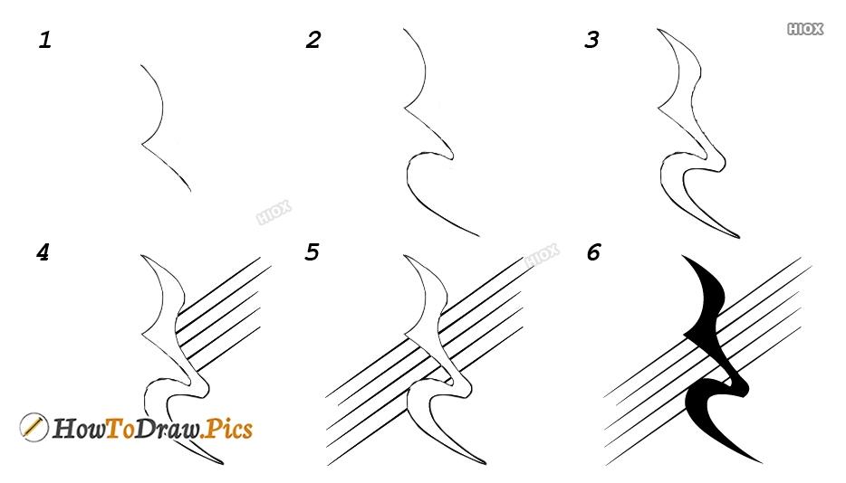 How To Draw Quarter Rest
