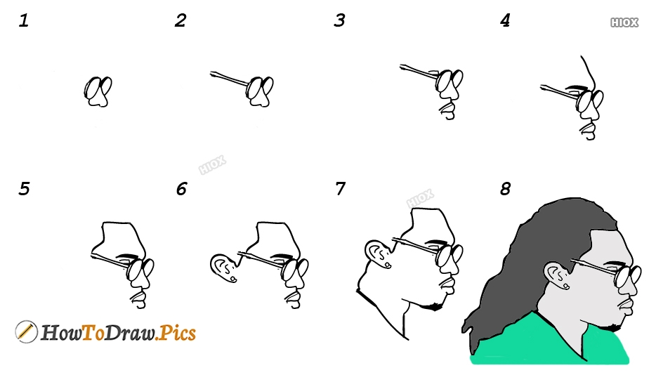 How To Draw Quavo Step By Step Images