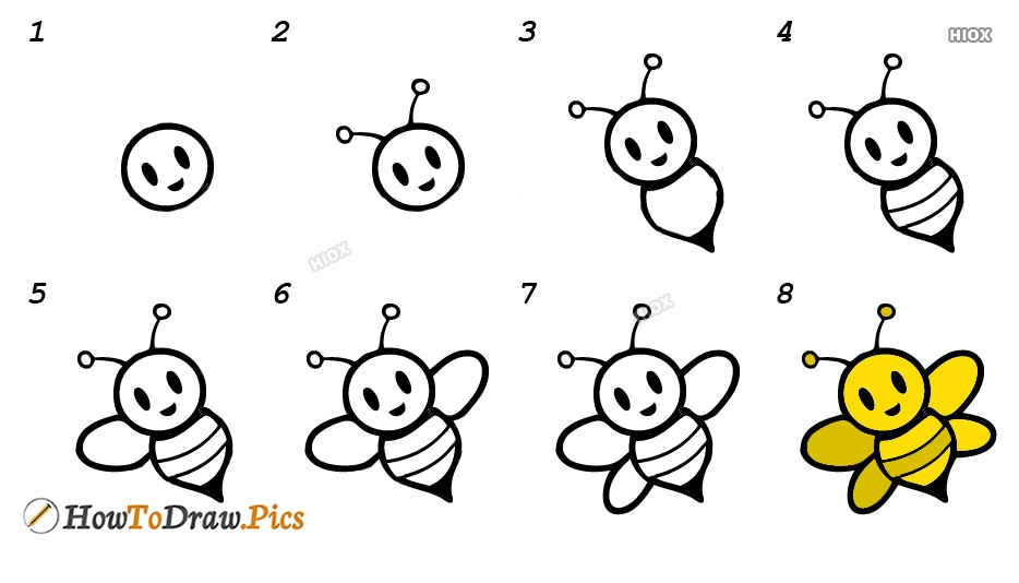 How To Draw Insects Step by Step Pictures