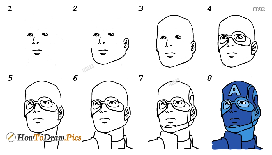 How To Draw Quicksilver Step by Step Pictures