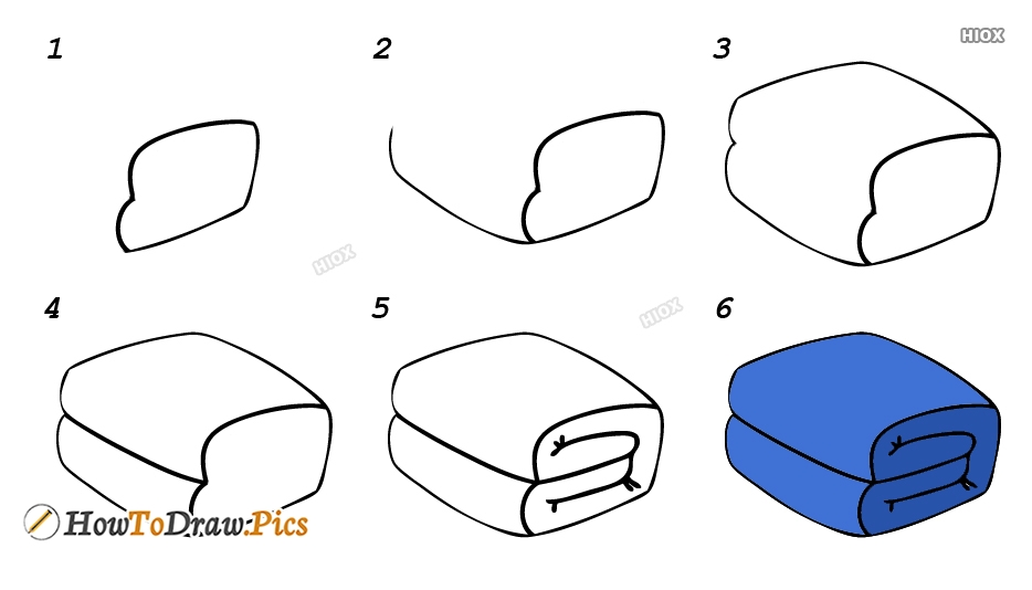 How To Draw Quilt
