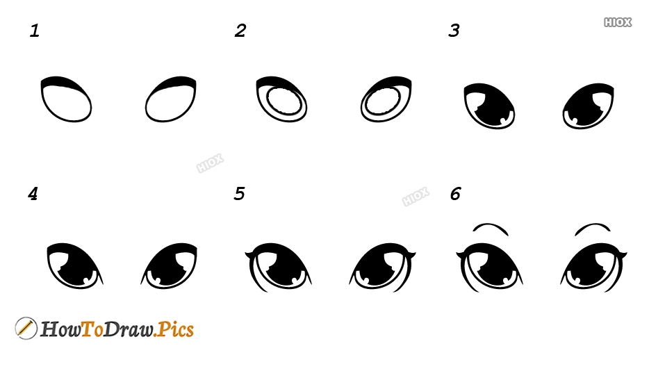 How To Draw Rabbit Eyes