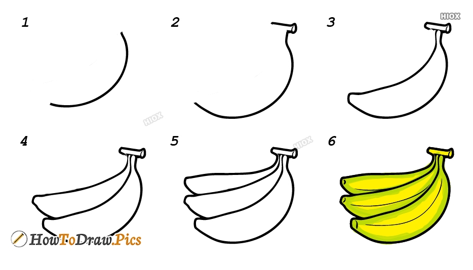 How To Draw Realistic Fruits Step By Step