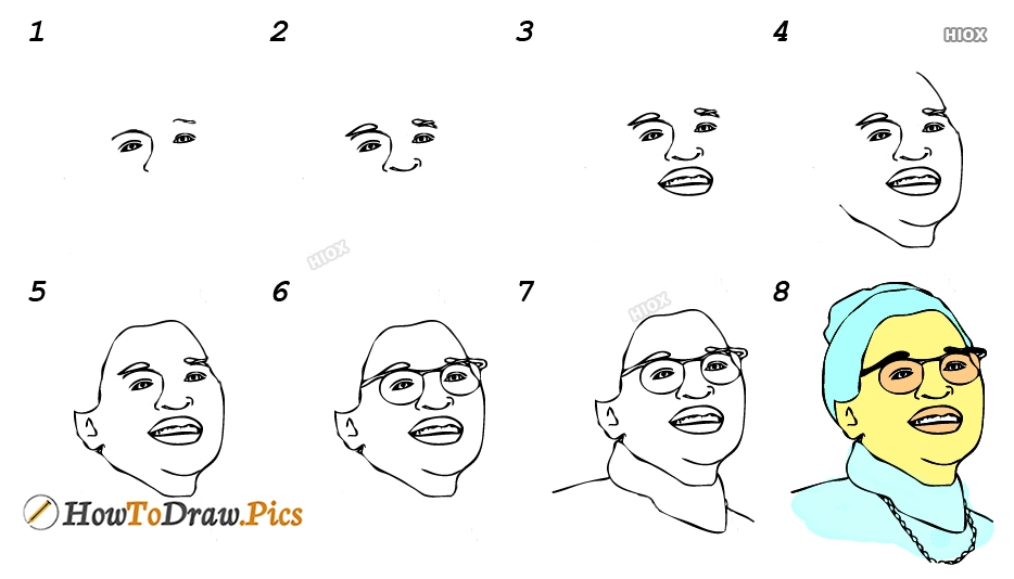 How To Draw Famous People Pictures, Images