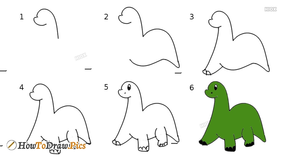 how to draw dinosaurs pictures dinosaurs step by step drawing lessons. Black Bedroom Furniture Sets. Home Design Ideas