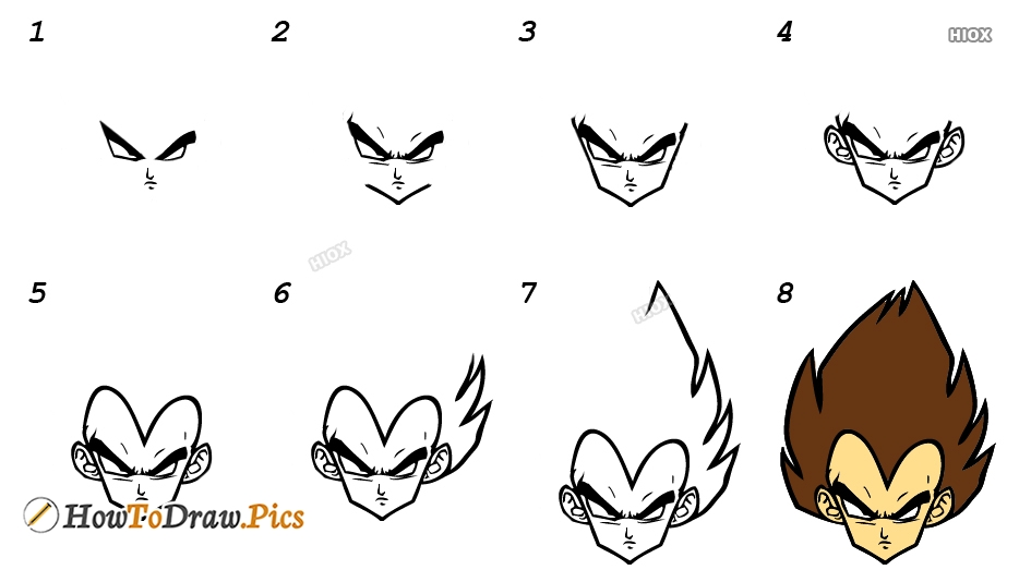 How To Draw Goku Images, Pictures