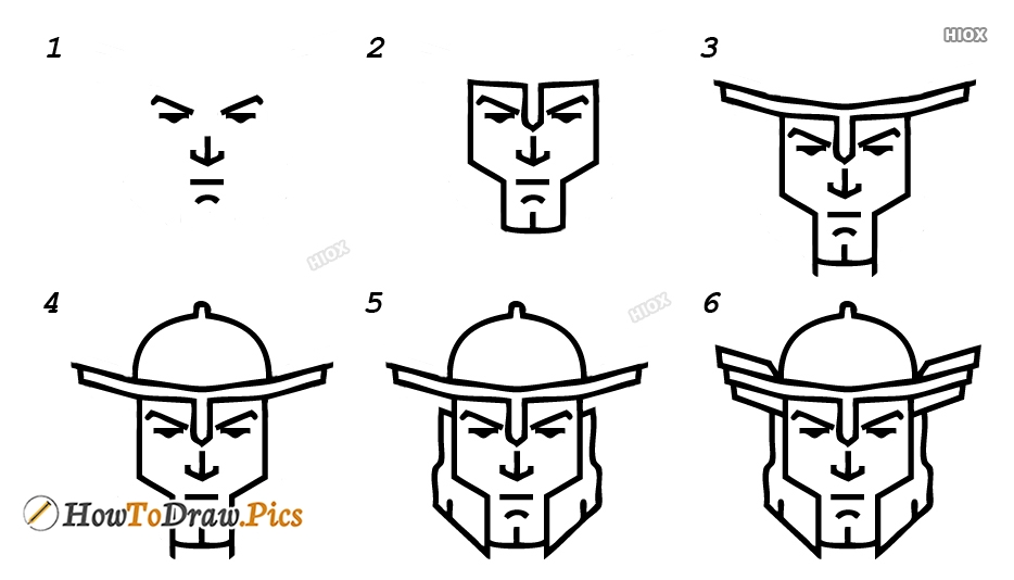 How To Draw Cartoon Character Step by Step Pictures