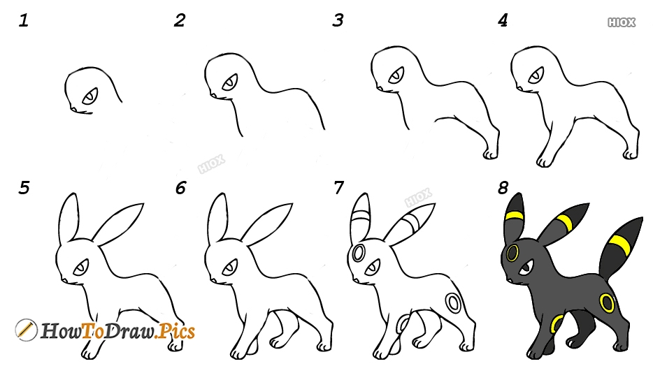 How To Draw A Pokemon Step By Step Images, Pics