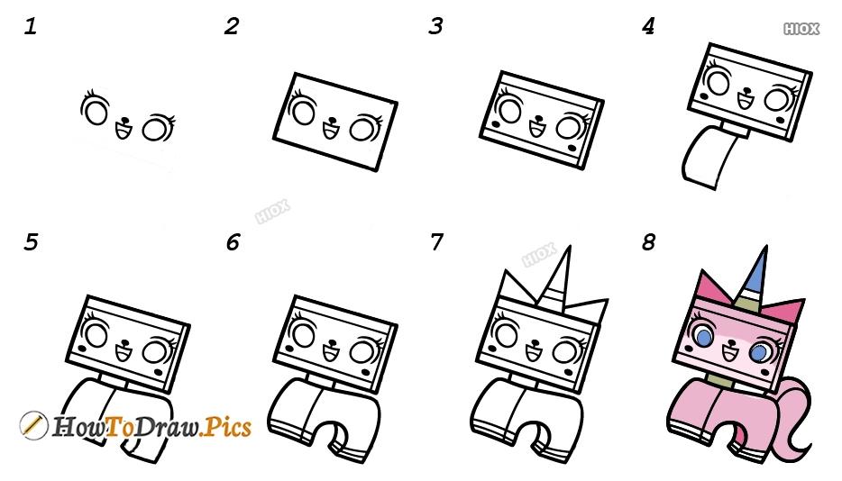 How To Draw Unikitty