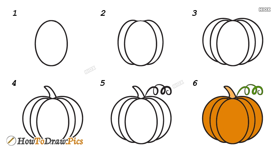 How To Draw Vegetables Easily