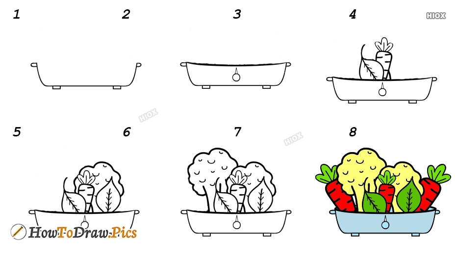 How To Draw Simple Step by Step Pictures