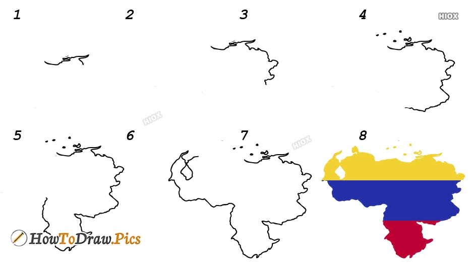 How To Draw A Country Step By Step Images
