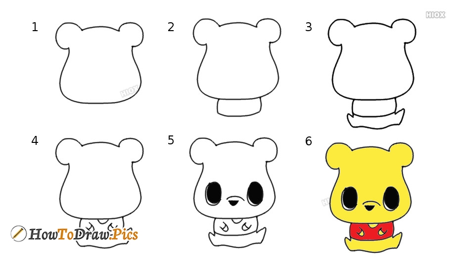 How To Draw Winnie-the-Pooh