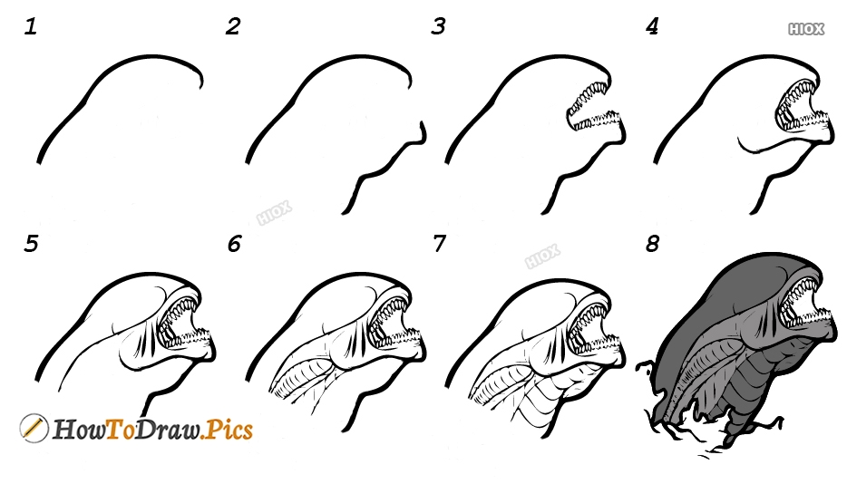 How To Draw Cartoon Step by Step Pictures