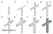 How Do You Draw Cross