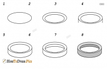 How To Draw A 3d Circle